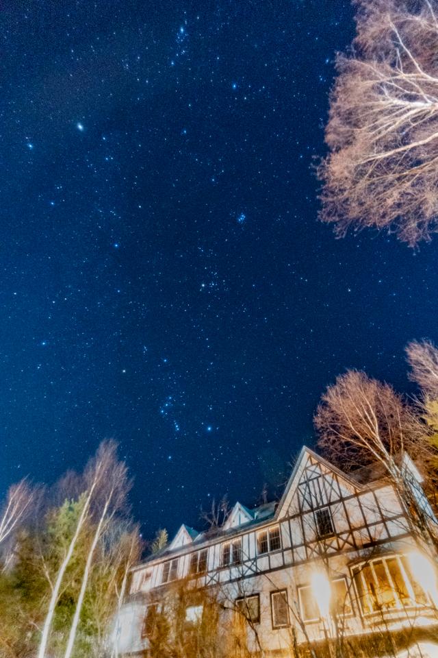 ボンシック宿と星空